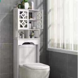 منظم فوم لاغراض الحمام يوضع فوق المرحاض