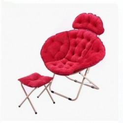 كرسي مريح مع مسند للأقدام