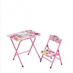طاولة للاطفال مع كرسي سهل الطوي